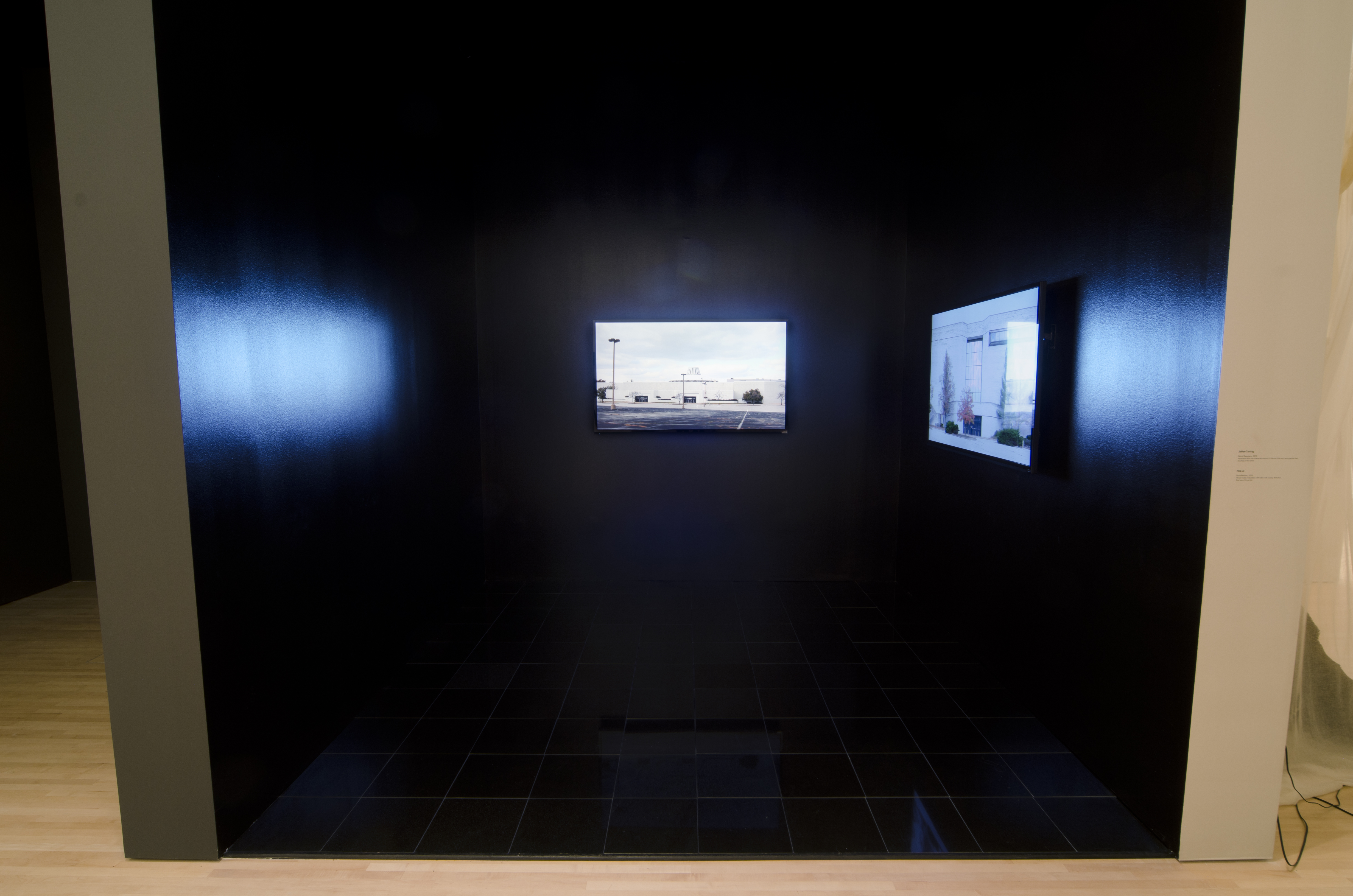 Installation View of Retail Requiem by JaNae Contag at Mildred Kemper Lane Art Museum