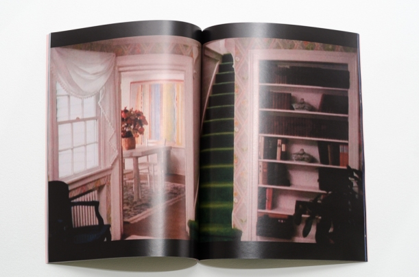 35-page Magazine Alternating pages of stills from The Stepford Wives and digital photographs of model train houses